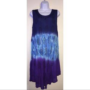 Dresses & Skirts - Short Tie Dye Stitched Dress